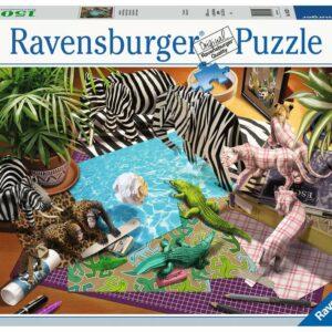 Origami Adventure Ravensburger Legpuzzel