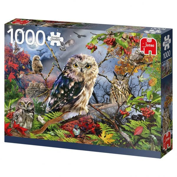 Owls In The Moonlight Jumbo18859 02 Legpuzzels.nl