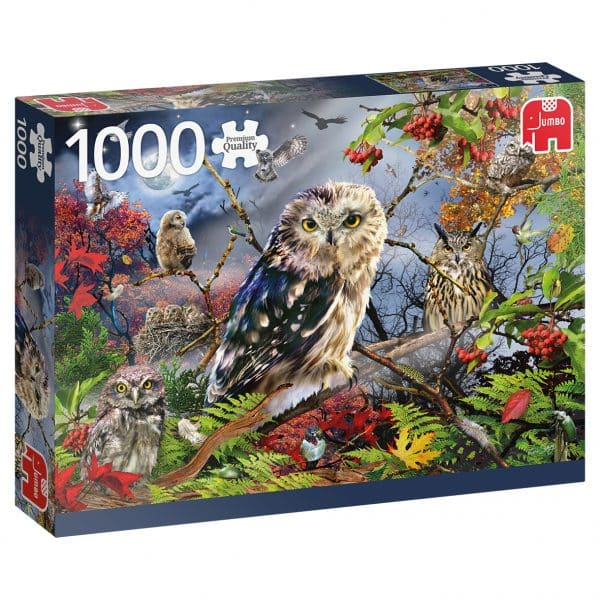 Owls In The Moonlight Jumbo18859 03 Legpuzzels.nl