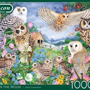 Owls In The Wood Jumbo11286 01 Legpuzzels.nl