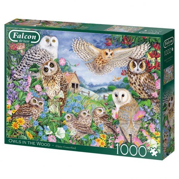 Owls In The Wood Jumbo11286 02 Legpuzzels.nl