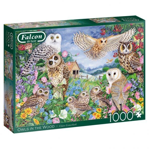 Owls In The Wood Jumbo11286 03 Legpuzzels.nl