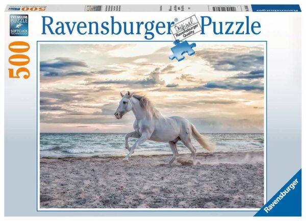 Paard Op Het Strand Legpuzzels