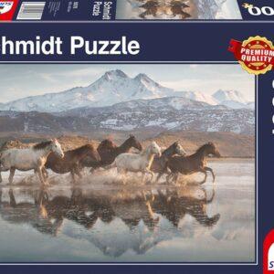 Paarden In Cappadocië Schmidt58376 Legpuzzels.nl