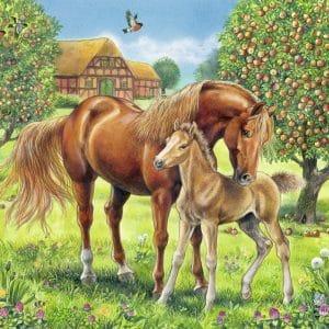 Paarden In De Wei Ravensburger105779 01 Kinderpuzzels.nl .jpg