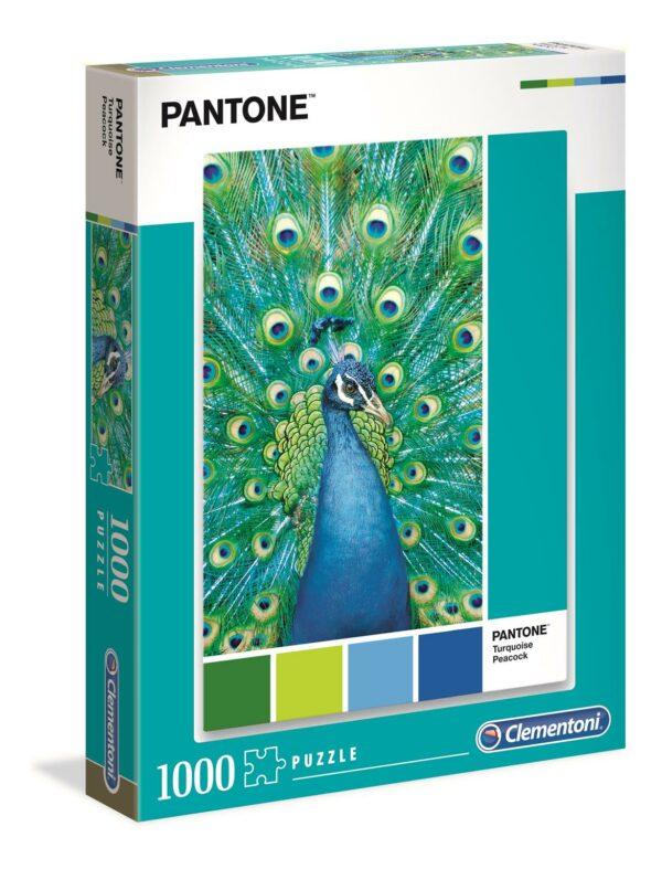 Pantone Collectie Pauw Turquoise Clementoni