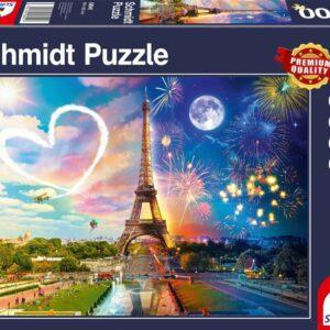 Parijs Dag En Nacht Schmidt Legpuzzels