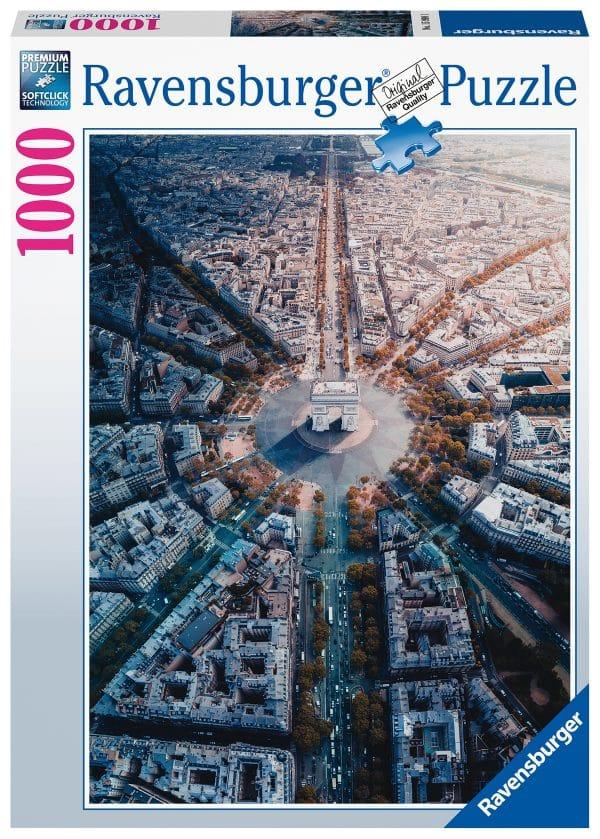 Parijs Van Bovenaf Gezien Ravensburger159901 02 Legpuzzels.nl
