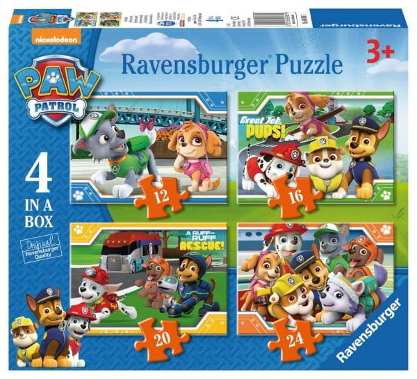 Paw Patrol Ravensburger Kinderpuzzel