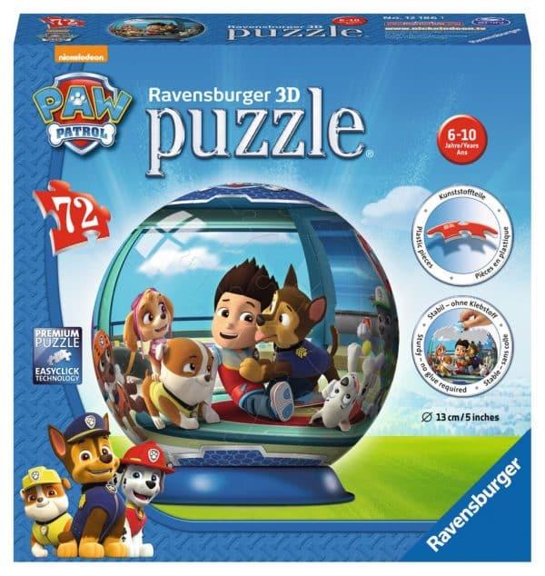 Paw Patrol Puzzleball Ravensburger Kinderpuzzels