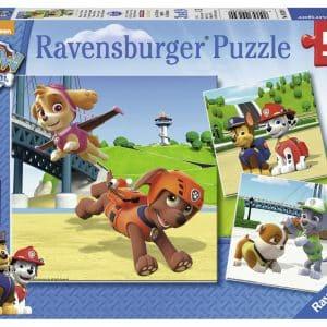 Paw Patrol Team Op 4 Poten Ravensburger092390 01 Kinderpuzzels.nl .jpg