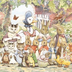 Peter Rabbit Pieter Konijn Vloerpuzzel Jumbo19478 01 Kinderpuzzels.png
