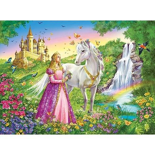 Prinses Met Paard Ravensburger Kinderpuzzels