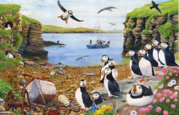 Puffin Parade The House Of Puzzles Legpuzzel 5060002002766 1.jpg