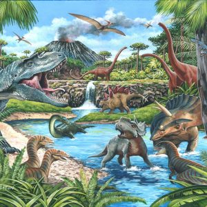Puzzlestore Dinosaurs 500xl Stukjes Mc481 1.jpg