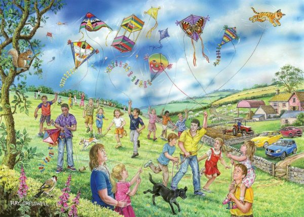 Puzzlestore Lets Go Fly A Kite 250xl Stukjes Mc489 1.jpg