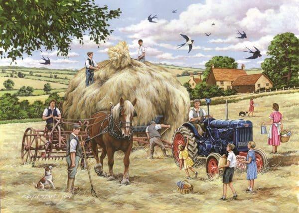 Puzzlestore Making Hay 500xl Stukjes Mc463 1.jpg