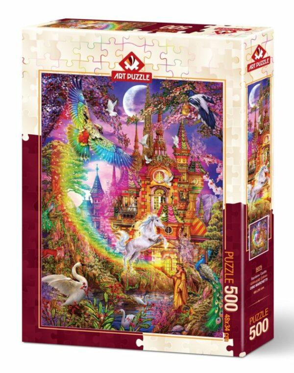 rainbow castle 5075 art puzzel 2