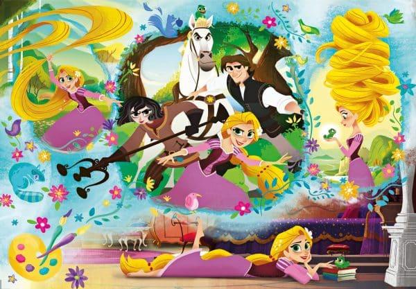 Rapunzel In Actie Disney Flynn