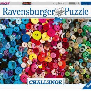 Ravensburger Puzzel Challenge Knopen Legpuzzel 100 Stukjes