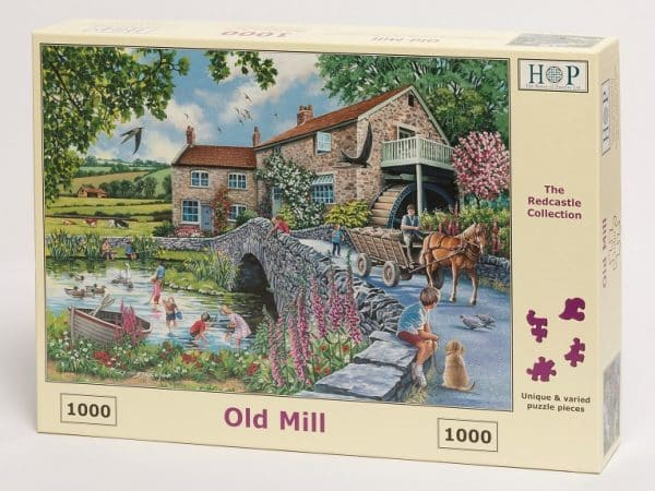 Redcastle Collection 1000 Piece Old Mill Launches July 14th 2019.jpg