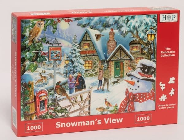 Redcastle Collection 1000 Piece Snowmans View Launches July 14th 2019.jpg