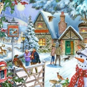 Redcastle Collection 1000 Piece Snowmans View Launches July 2019.jpg