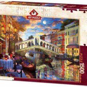 Rialto Bridge Venice Art Legpuzzels