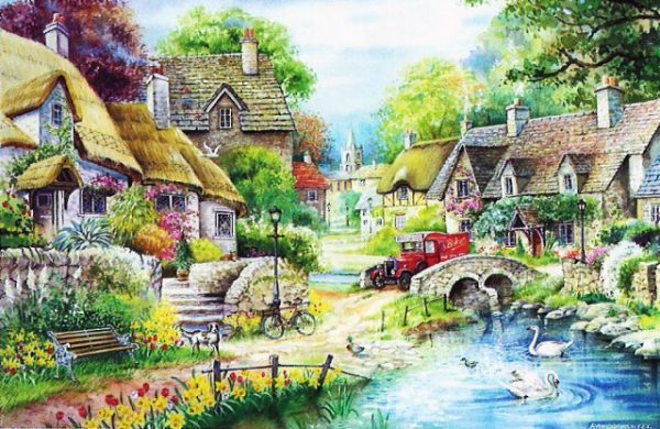 River Cottage The House Of Puzzles Legpuzzel 5060002001431 1.jpg