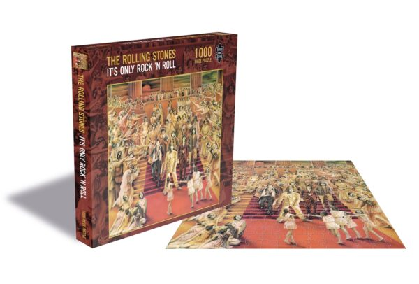 rolling stones it's only'rock 'n roll rocksaws268218 01 legpuzzels
