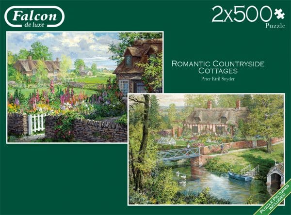 Romantic Countryside Cottages Jumbo11261 01 Legpuzzels.nl