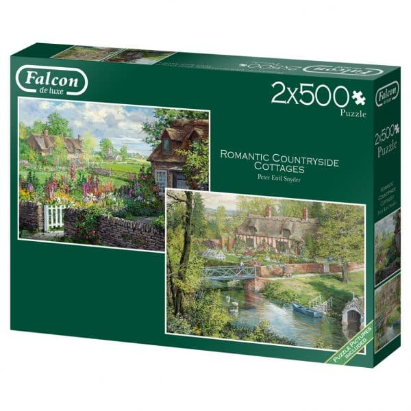 Romantic Countryside Cottages Jumbo11261 02 Legpuzzels.nl