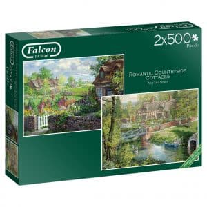 Romantic Countryside Cottages Jumbo11261 03 Legpuzzels.nl