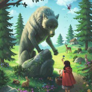 roodkapje en de wolf 1