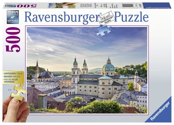 Salzburg In Oostenrijk Ravensburger149827 02 Legpuzzels.nl