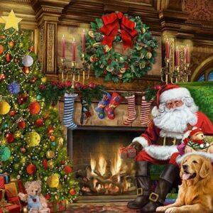 santa by the christmas tree 11311 jumbo 1