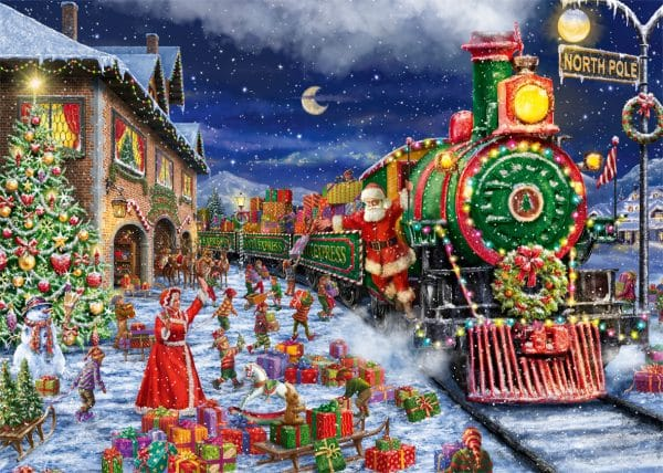 Santa S Special Delivery Jumbo11268 01 Legpuzzels.nl