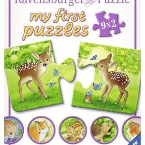 Schattige Bosbewoners Ravensburger Kinderpuzzel