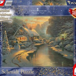 Schmidt Thomas Kinkade Kerstsavond