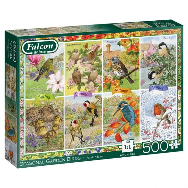 Seasonal Garden Birds Jumbo11292 03 Legpuzzels.nl
