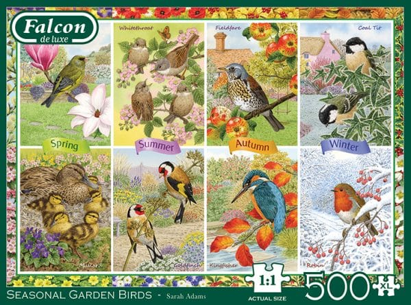 Seasonal Garden Birds Jumbo11292 04 Legpuzzels.nl
