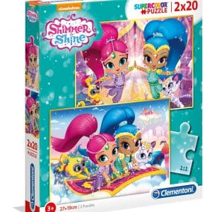 Shimmer And Shine Clementoni Kinderpuzzels