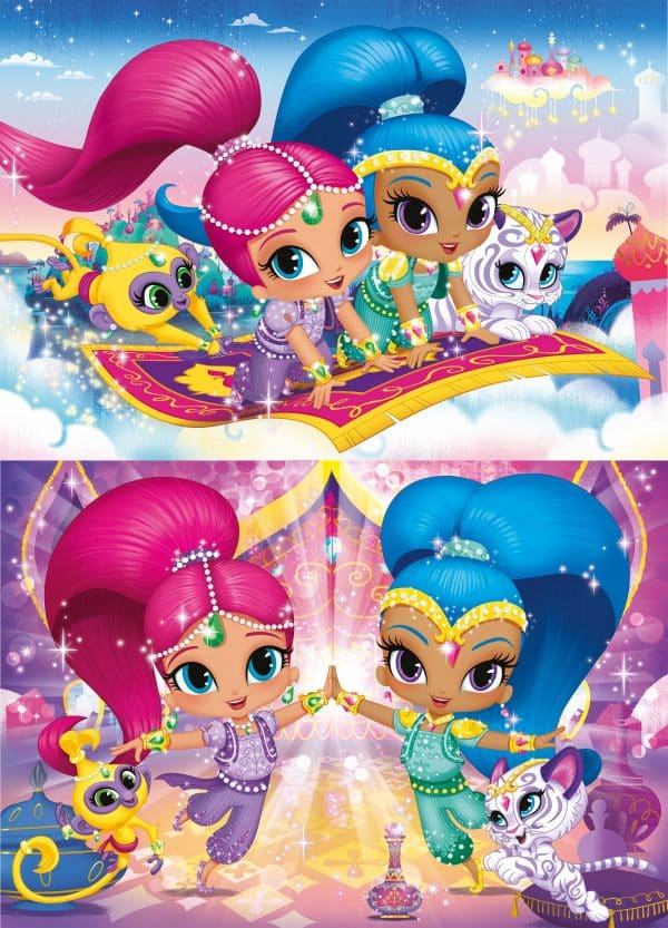 Shimmer And Shine Clementoni Kinderpuzzel