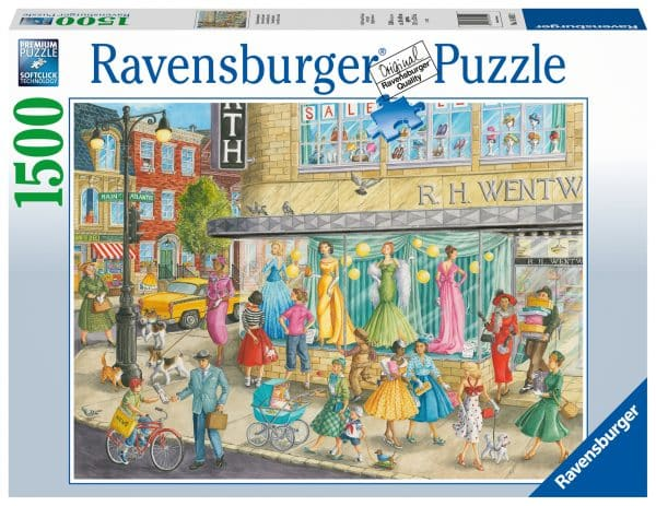 Sidewalk Fashion Ravensburger164592 02 Legpuzzels.nl
