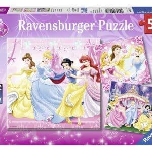 Sneeuwwitje Ravensburger Kinderpuzzels