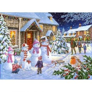 Snow Family The House Of Puzzles Legpuzzel 5060002004258 1.jpg