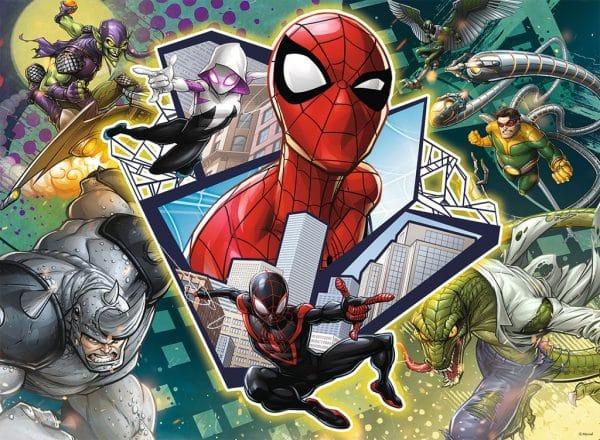 Spider Man Vrienden Vijanden Ravensburger Kinderpuzzel