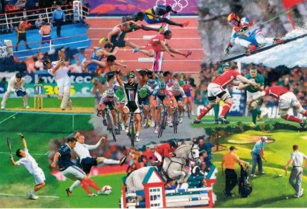 Sports Mixture The House Of Puzzles Legpuzzel 5060002003916 1.jpg