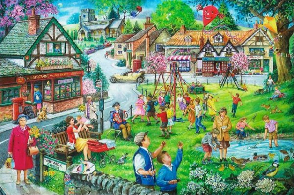 Spring Green The House Of Puzzles Legpuzzel 5060002002599 1.jpg