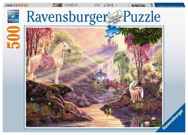 Sprookjesachtige Idylle Bij Het Meer Ravensburger150359 02 Legpuzzels.nl